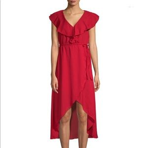 NWT Walker Baker Hi-Low Red Dress